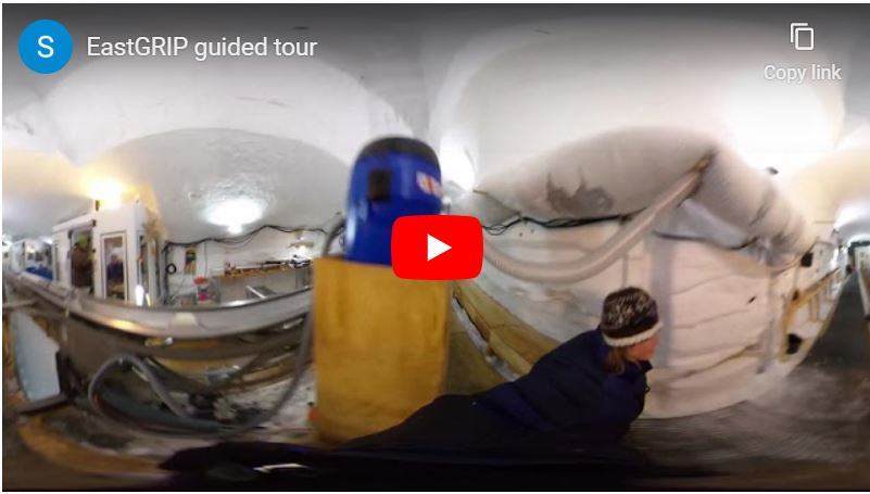 Video - Guided tour of EastGRIP